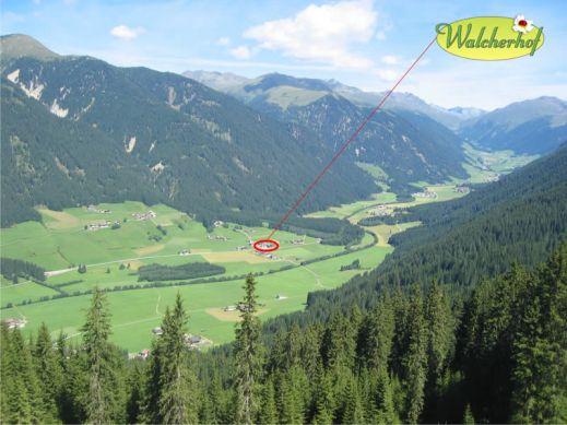 Walcherhof e la valle di casies